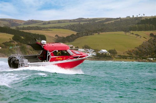 McLay Premier Hardtop 801on the water