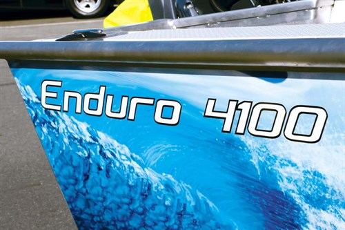 Wrap on Enduro Boats 4100