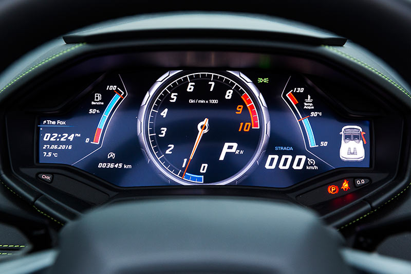 Lamborghini -Huracan -dash
