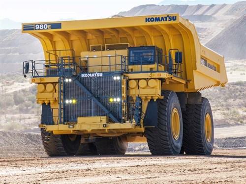 Komatsu -largest -truck