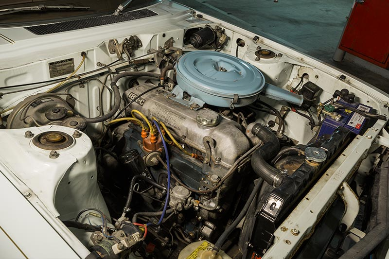 Toyota -celica -engine -bay