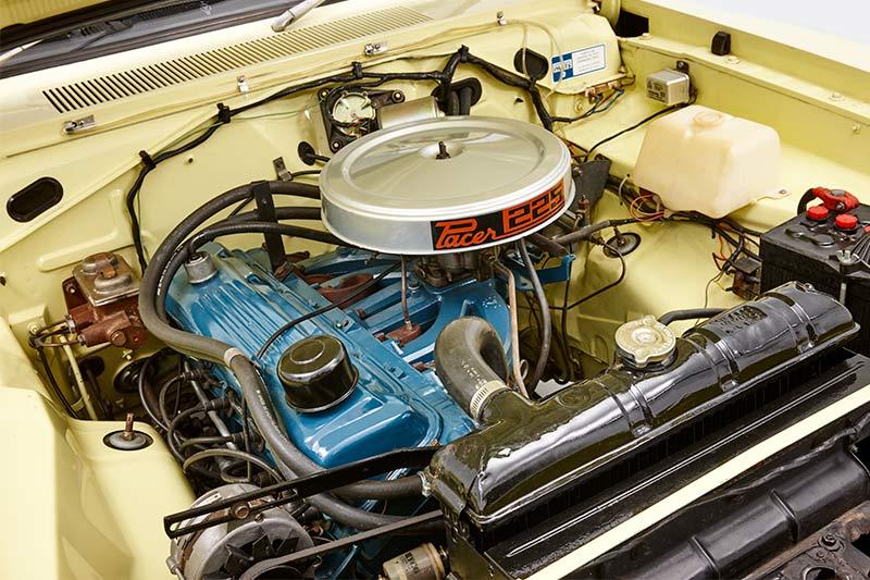 Chrysler -valiant -pacer -engine -bay