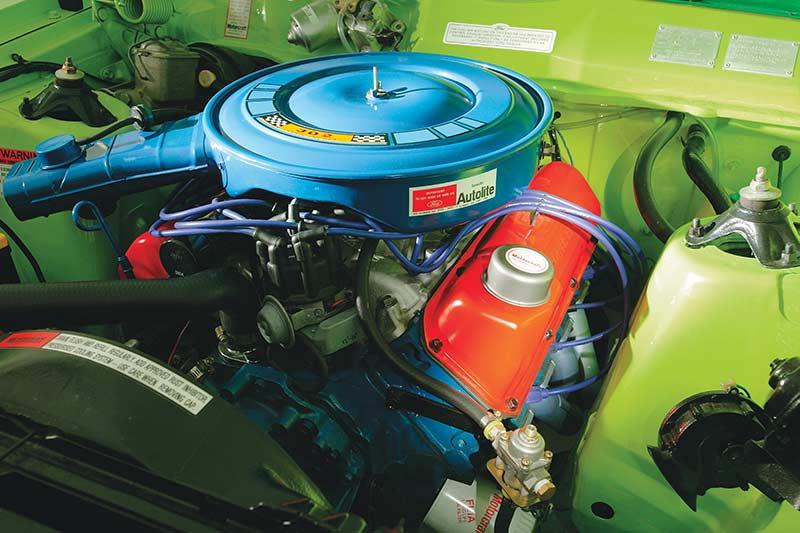 Ford -falcon -engine