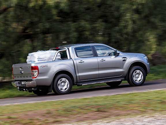 Ford Ranger in side profile