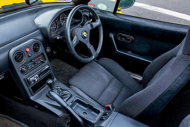 Mazda -mx 5-interior