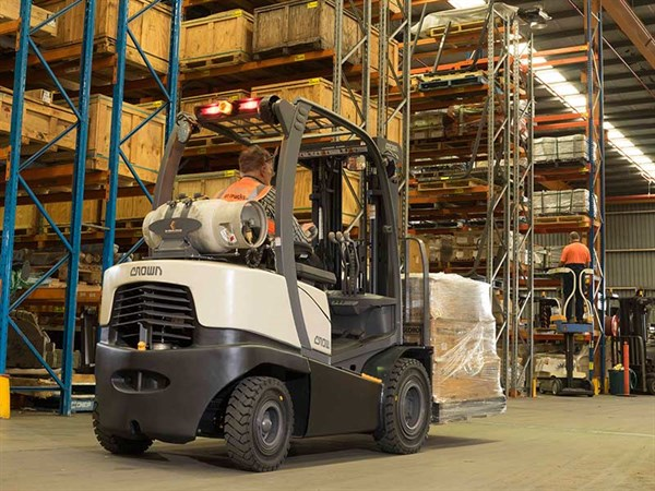 Crown -C5,-Forklift -Review ,-ATN2