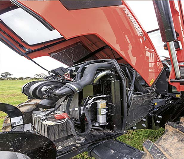 Kubota V3800 TI CRS tractor engine
