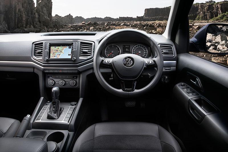 VW Amarok TDV6 ute on the road