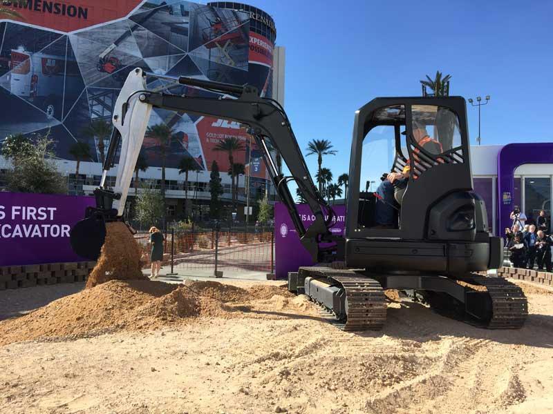 3D printed excavator cab