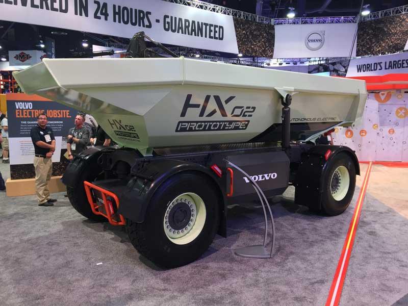 Volvo HX02 electric hauler