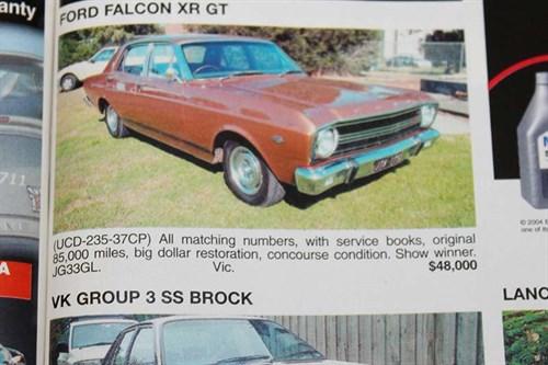 Ford -falcon -xr -gt