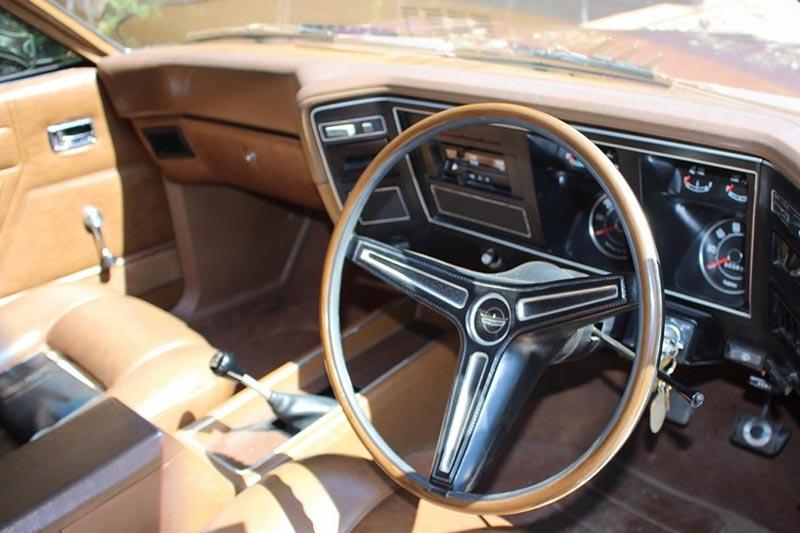 Ford -falcon -xa -gt -rp 083-interior