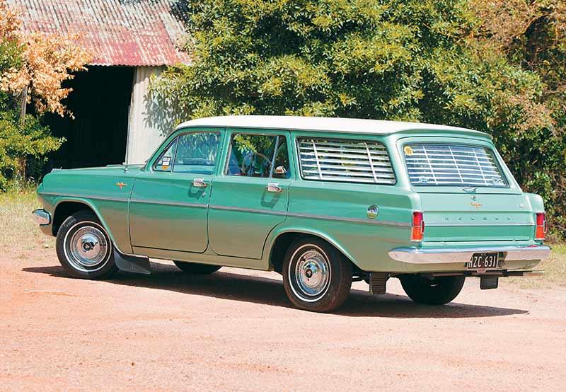 EH-Holden -rear