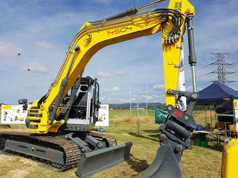 Wacker Neuson 14504 excavator
