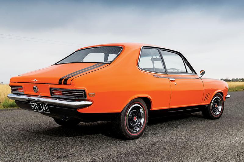 Holden -torana -rear -angle