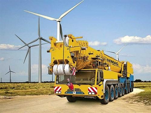 Terex -Cranes -Demag -warranty