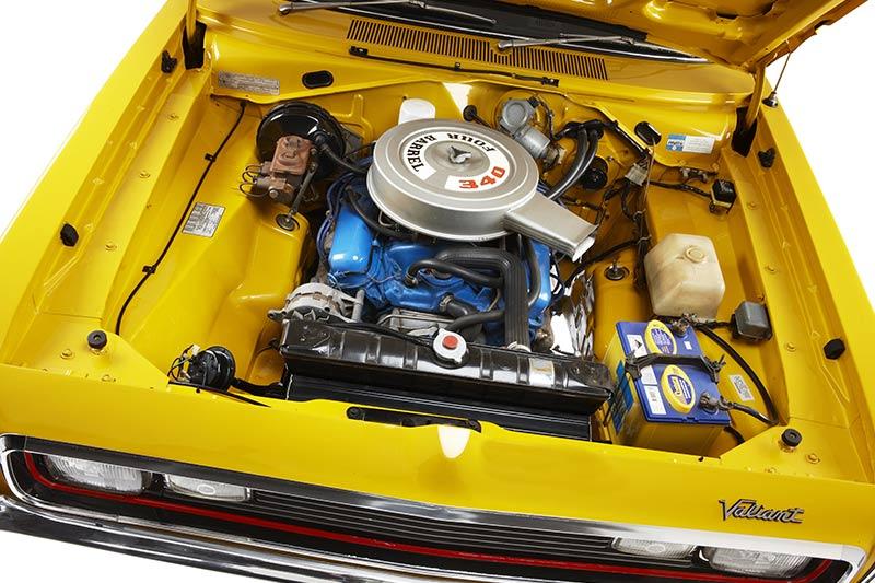 Chrysler -charger -e 55-engine -bay