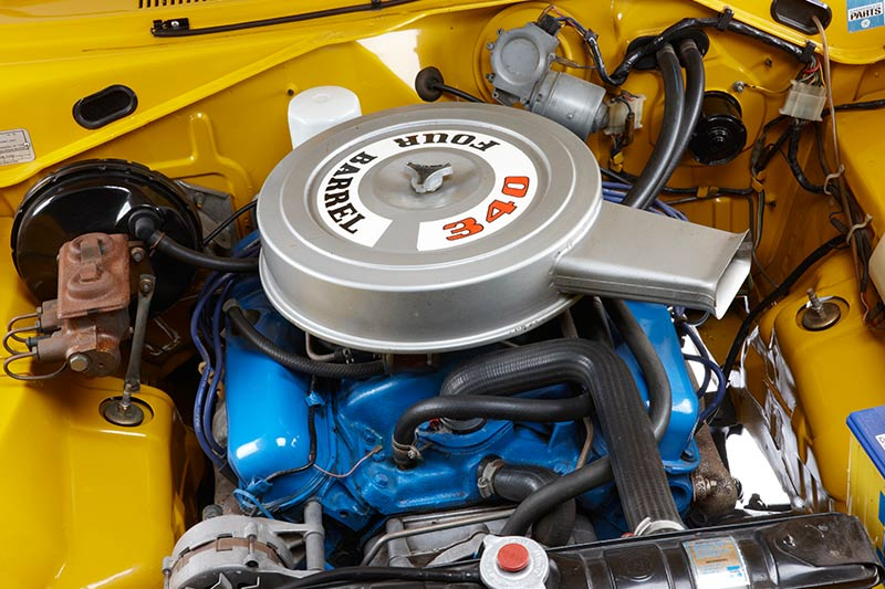 Chrysler -charger -e 55-engine