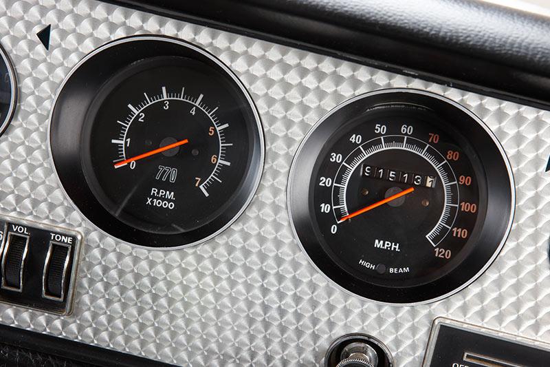 Chrysler -charger -e 55-gauges