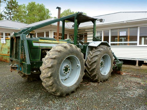 The -ubiquitous -winch -tractor