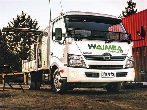 Hino -NZ-300-series -trucks -reversing -cameras