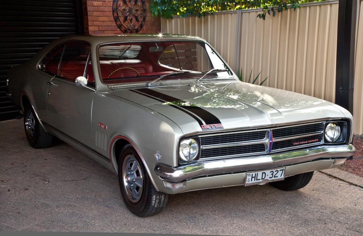 1968 HK Holden Monaro 327