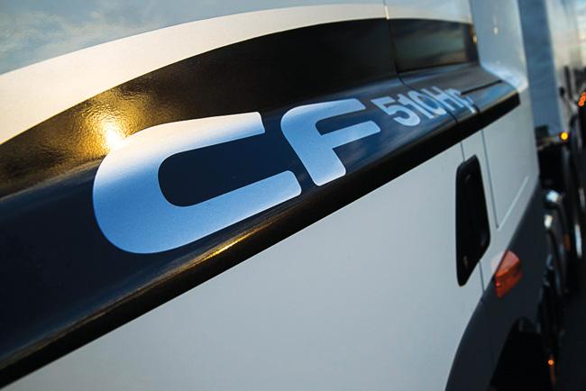 DAF CF85 badge