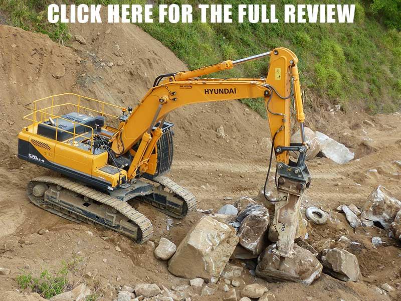 Hyundai R520LC-9 excavator