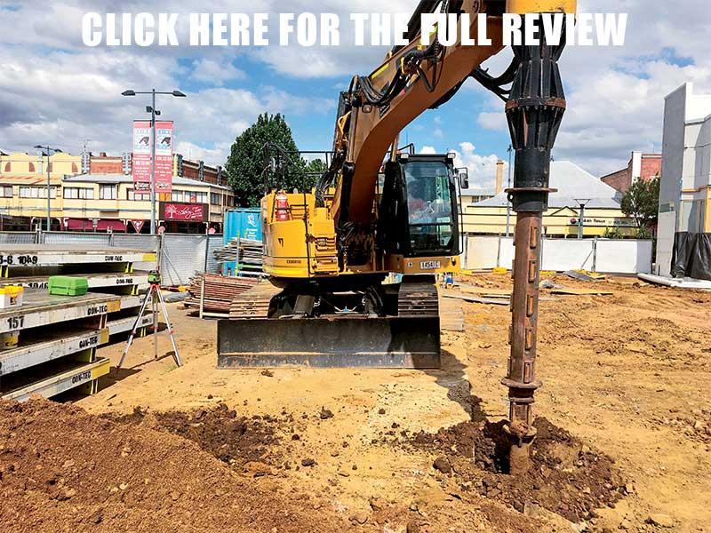 Cat 328D LCR excavator