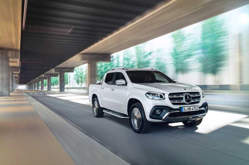 Mercedes-Benz X-Class ute Power model