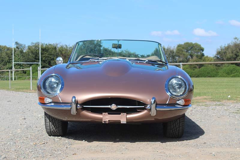 Jaguar -etype -front