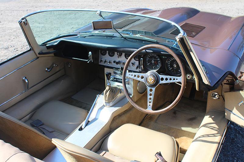 Jaguar -etype -interior