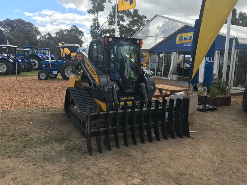 New -Holland -C232-compact -track -loader