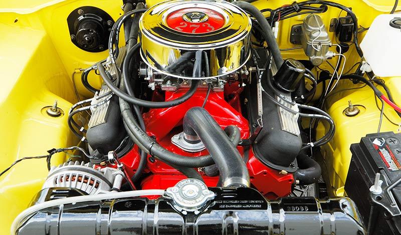 Barracuda -engine -bay