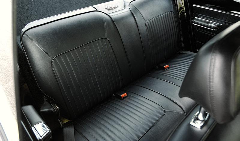 Barracuda -interior -rear