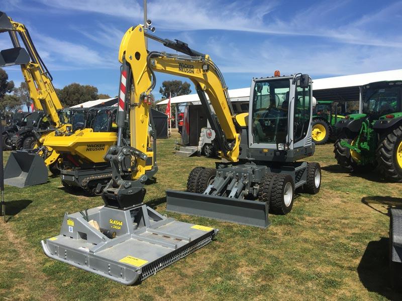 Wacker -Neuson -EW65-wheeled -excavator