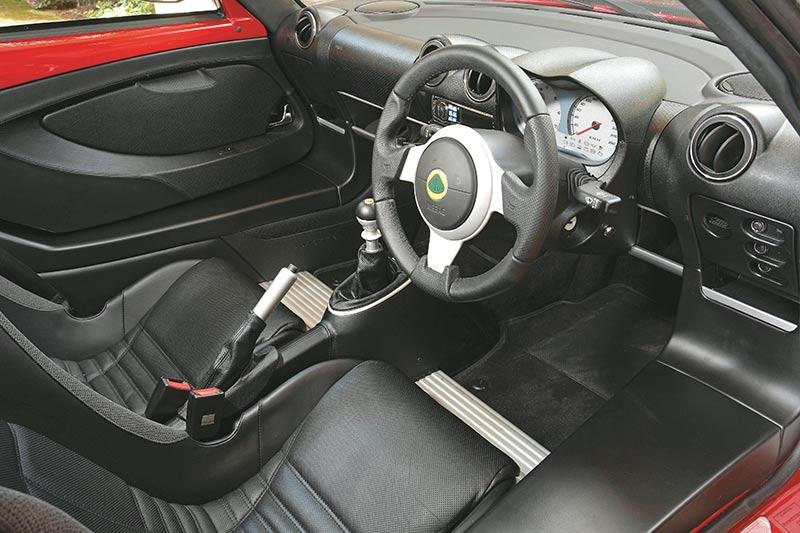 Lotus -europa -interior