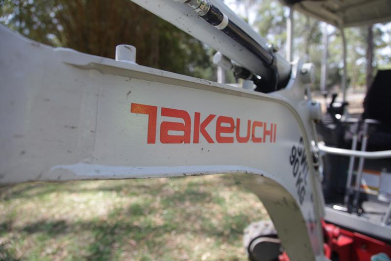 Takeuchi -TB215r -mini -excavator