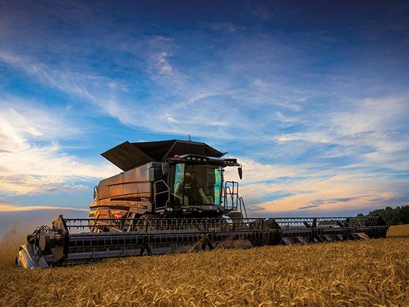 AGCO & Massey Ferguson Ideal combine harvester