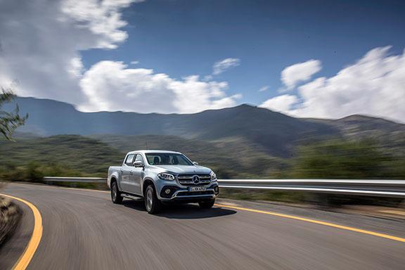 The new Mercedes X-Class