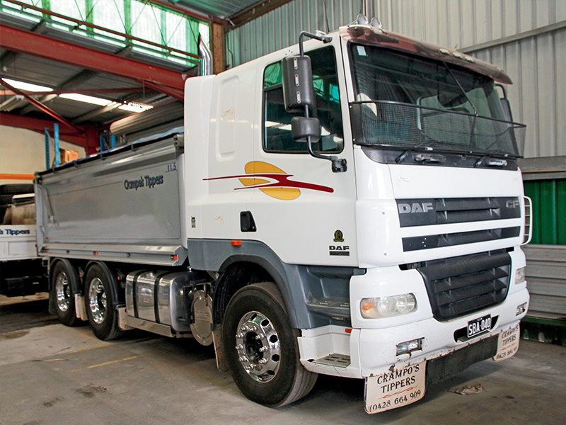 Crampton is a big believer in 'horses for courses' and MX-powered DAF CF does a good job in a particular application