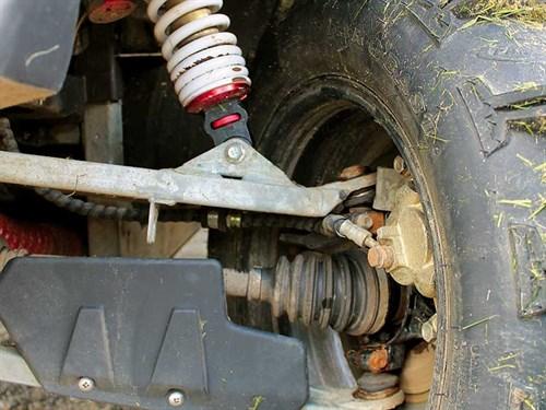 Wheel -suspension