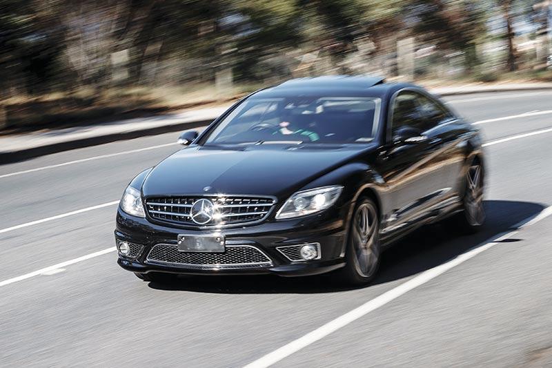 Mercedes -benz -cl 63-onraod
