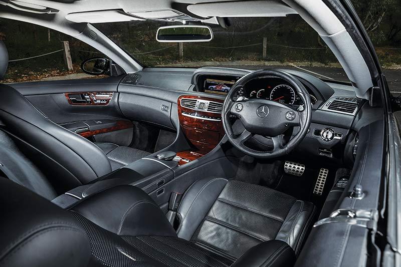 Mercedes -benz -cl 63-interior