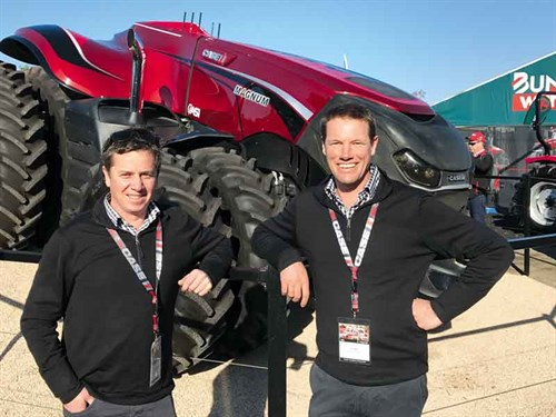 James -and -Chris -with -an -Autonomous -Tractor