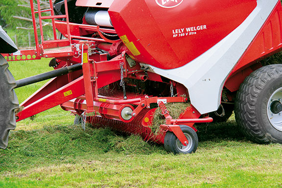 The Lely RP 160 working