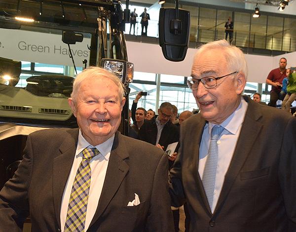 Helmut Claas and Willi Liebherr