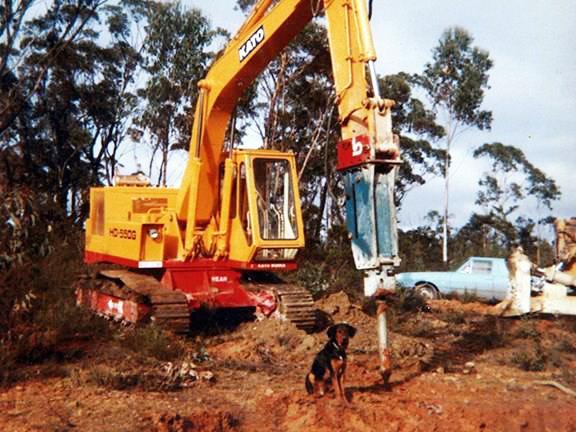 1979-Kato -550G-excavator