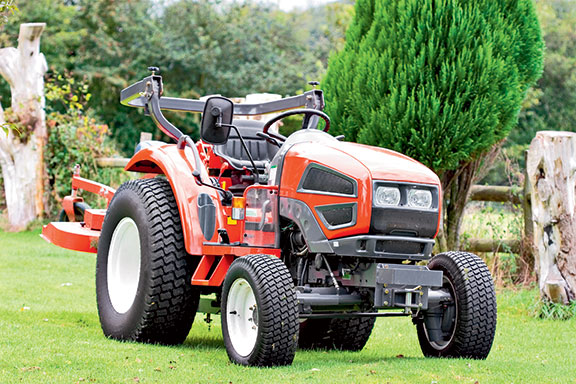 A small hp tractor