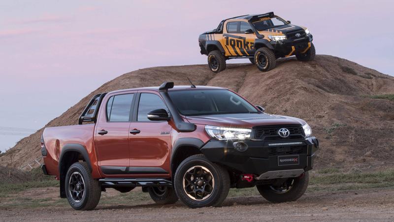 Toyota -Hilux -Rugged -X